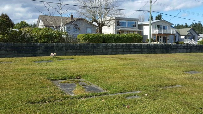John Renwick grave, Bowen Road Cemetery, Nanaimo, B.C,