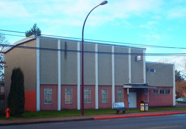 Goldstream Masonic Hall, 669 Goldstream Avenue, Langford, B.C. (photo: Ashlar Lodge No. 3 Historian)