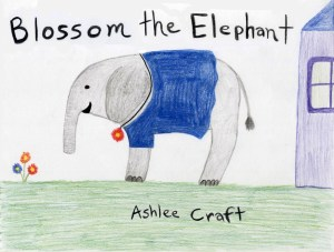 Blossom the Elephant by Ashlee Craft
