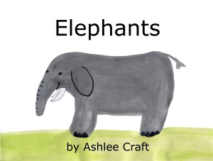 Elephants (Wonderful Wildlife, Book 6) by Ashlee Craft - Cover
