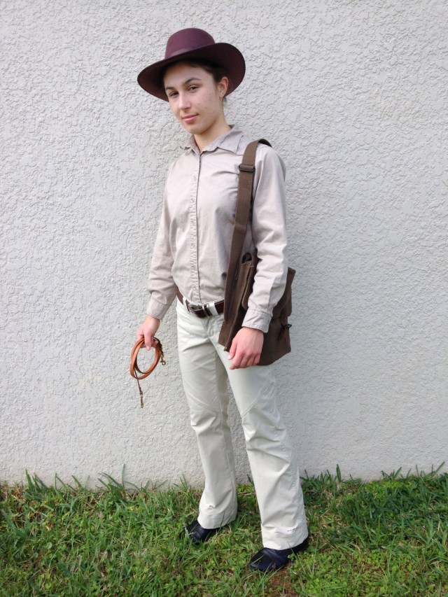 Indiana Jones Halloween Costume by Ashlee Craft