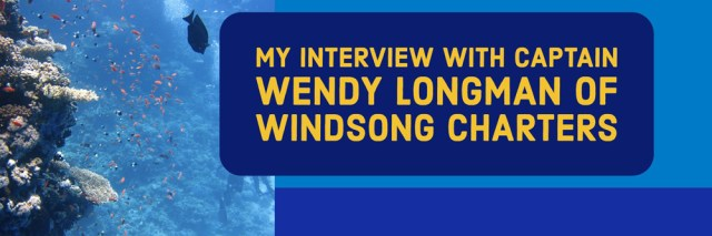 My Interview with Wendy Longman of Windsong Charters in New Port Richey, FL