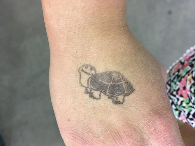 Tampa Repticon 2018 Tortoise Hand Stamp