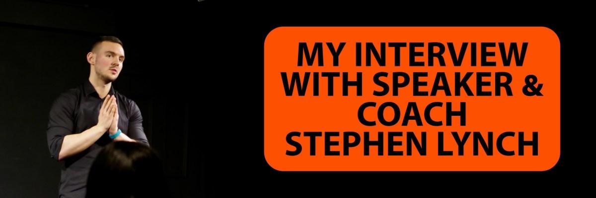 Stephen Lynch Interview Banner