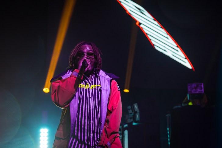 Gunna Performing at BUKU 2019