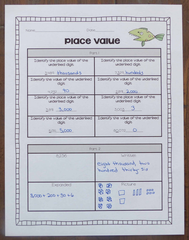 Place Value Unit