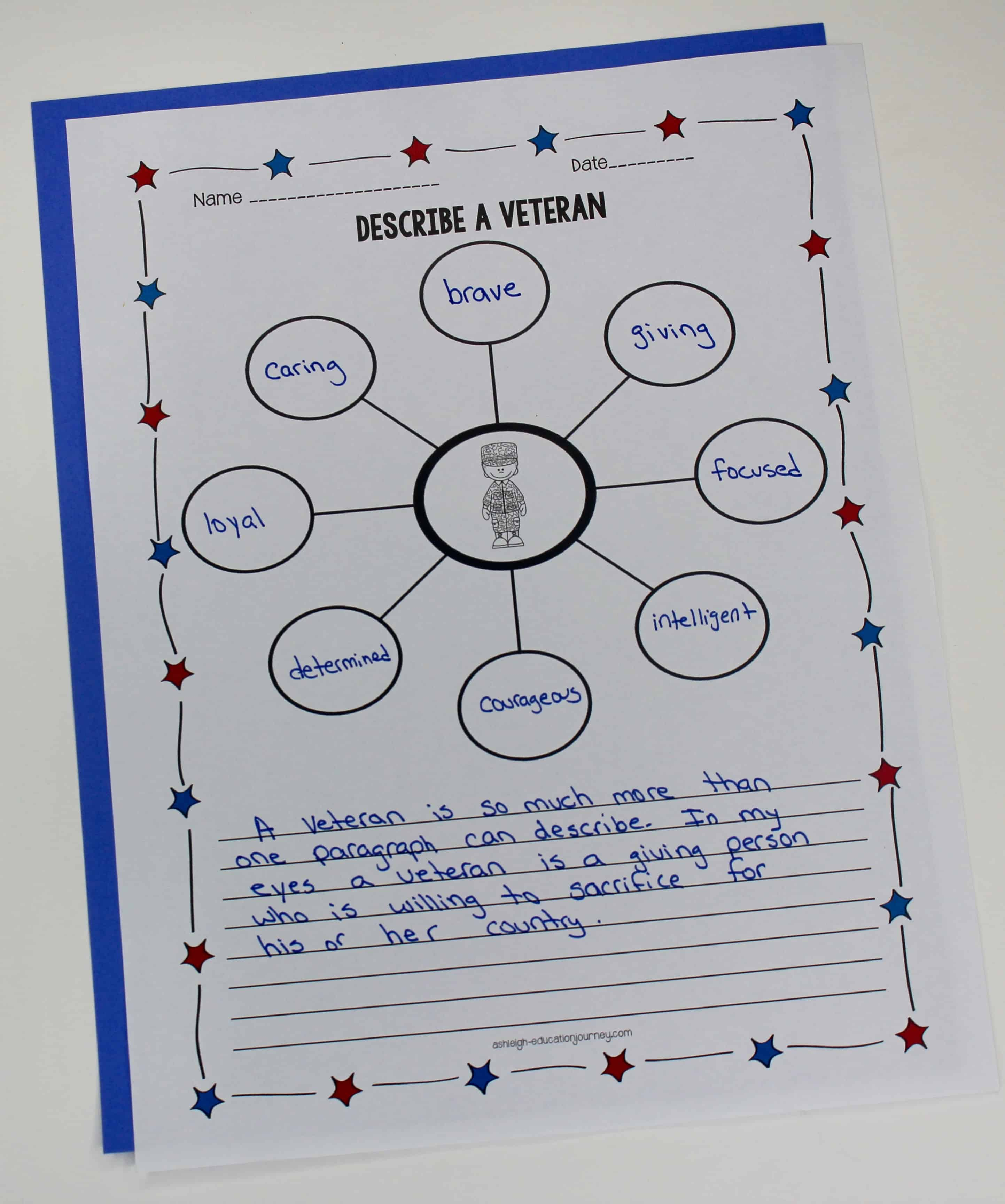 Veterans Day Acrostic Poem Examples