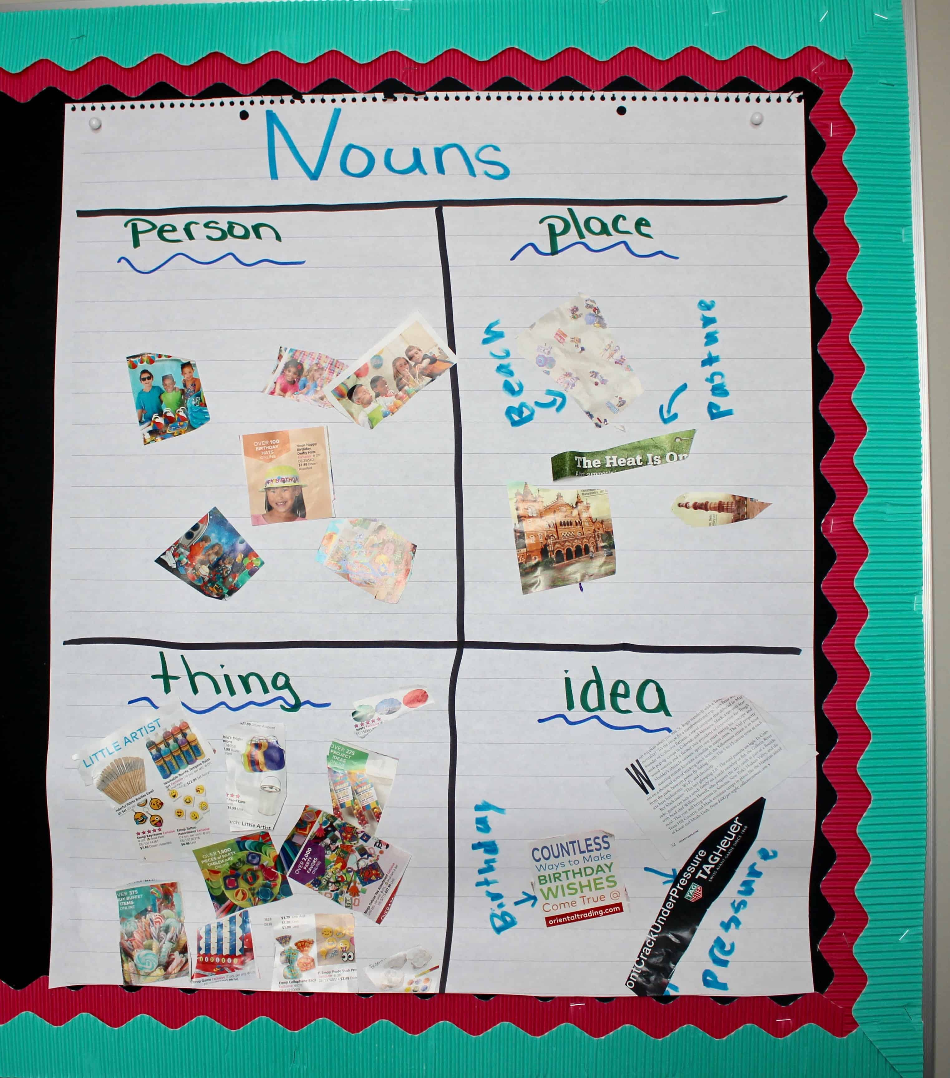 Teaching Nouns