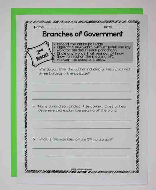 small resolution of Government Close Reading \u0026 Interactive Notebook - Ashleigh's Education  Journey