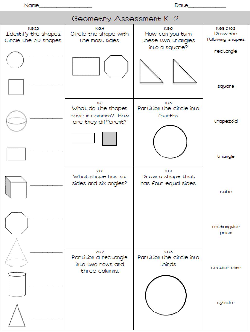 Diagnostic Math Assessments