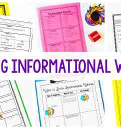 Informational Writing - Getting Started - Ashleigh's Education Journey [ 1080 x 1920 Pixel ]