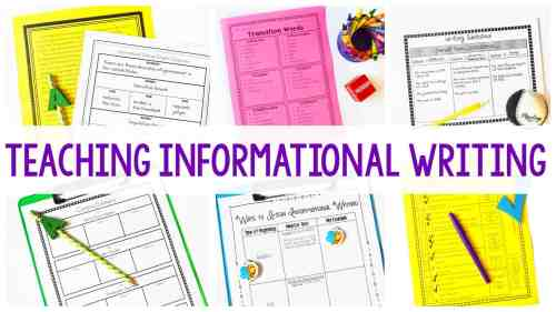 small resolution of Informational Writing - Getting Started - Ashleigh's Education Journey