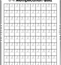 multiplication timed test - Ashleigh's Education Journey [ 1438 x 1082 Pixel ]