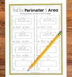 Perimeter Missing Side Worksheet   Printable Worksheets and Activities for  Teachers [ 3684 x 2756 Pixel ]