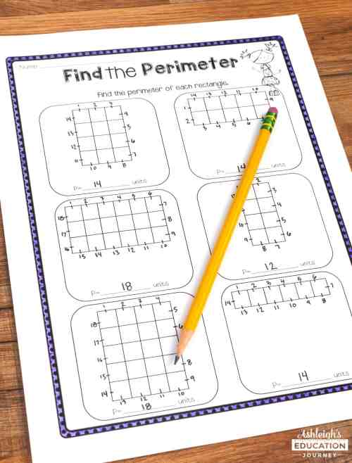 small resolution of Teaching Area and Perimeter - Ashleigh's Education Journey