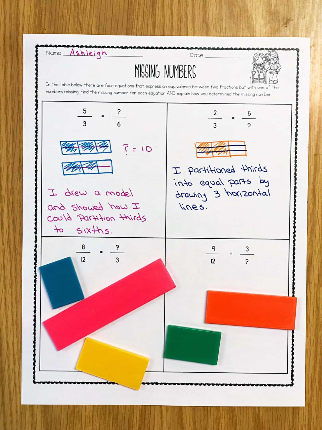 Teaching Equivalent Fractions