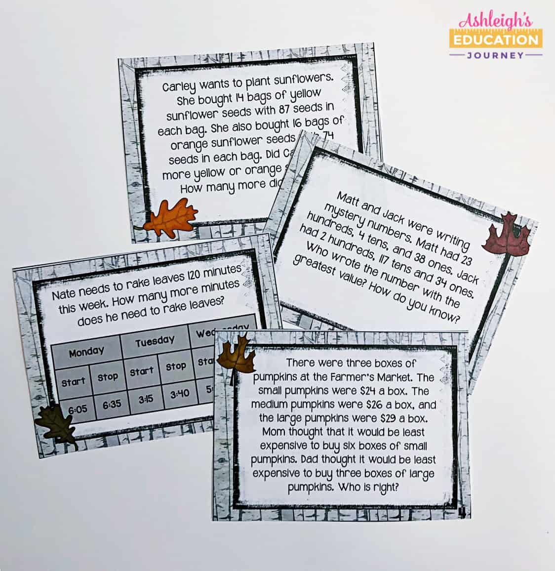 hight resolution of Teaching Multi-Step Word Problems - Ashleigh's Education Journey