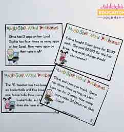 Teaching Multi-Step Word Problems - Ashleigh's Education Journey [ 1124 x 1154 Pixel ]