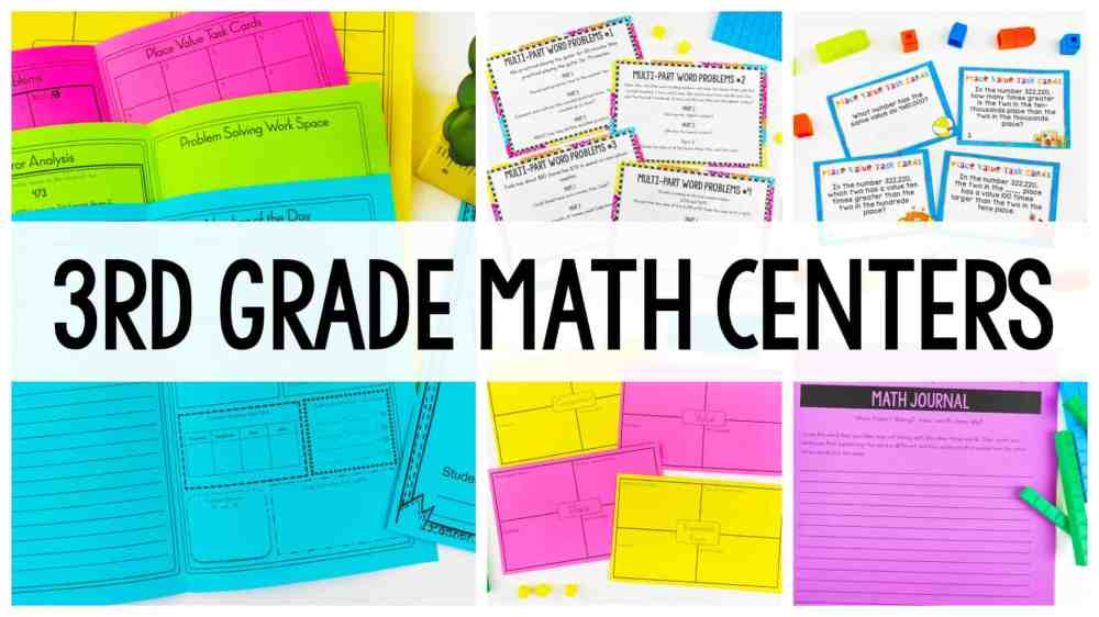 medium resolution of 3rd Grade Place Value Centers - Ashleigh's Education Journey