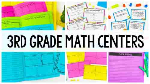 small resolution of 3rd Grade Place Value Centers - Ashleigh's Education Journey