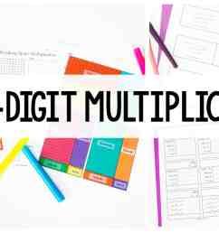 Teaching Multi-Digit Multiplication - Ashleigh's Education Journey [ 1080 x 1920 Pixel ]