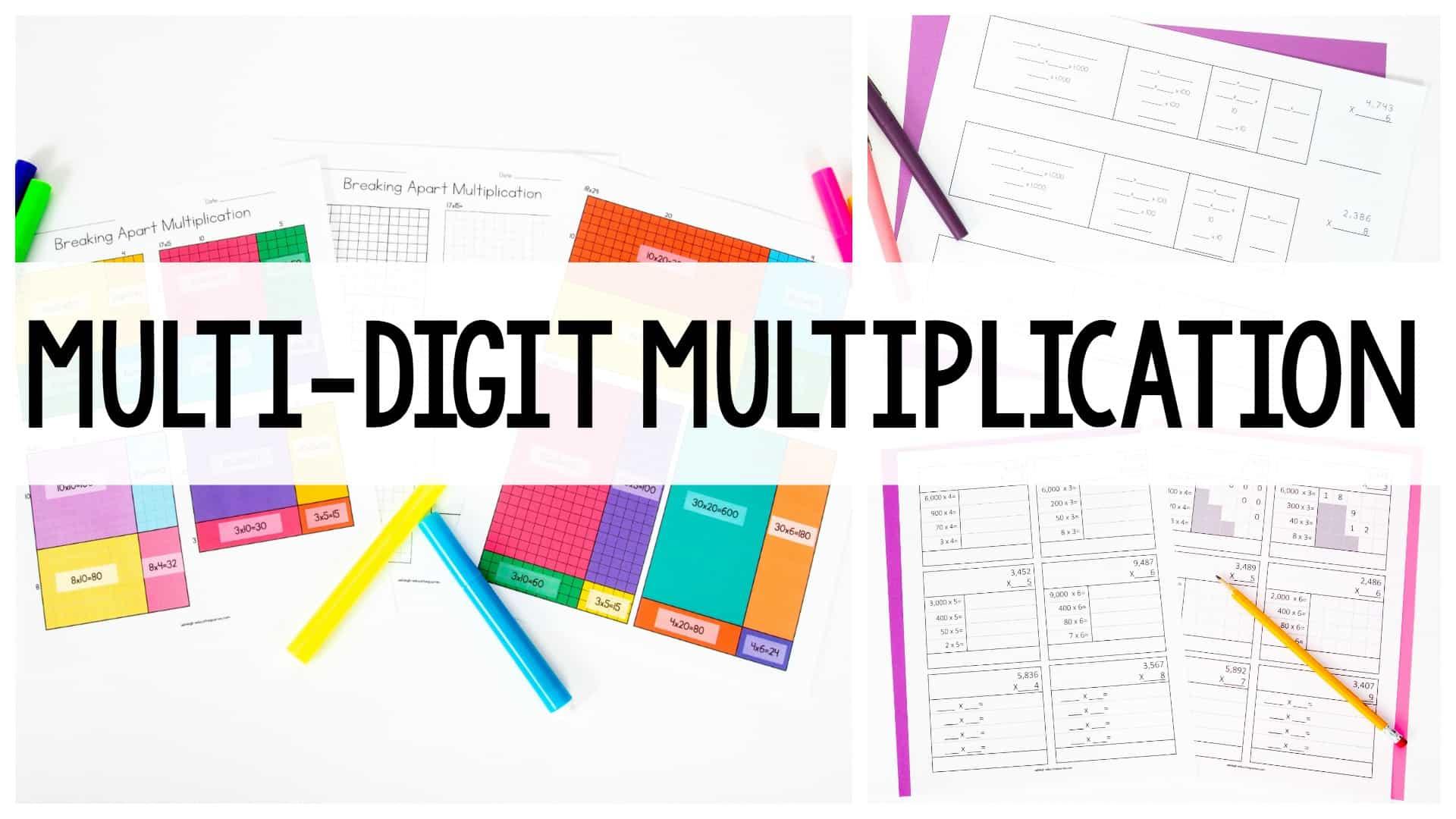 hight resolution of Teaching Multi-Digit Multiplication - Ashleigh's Education Journey