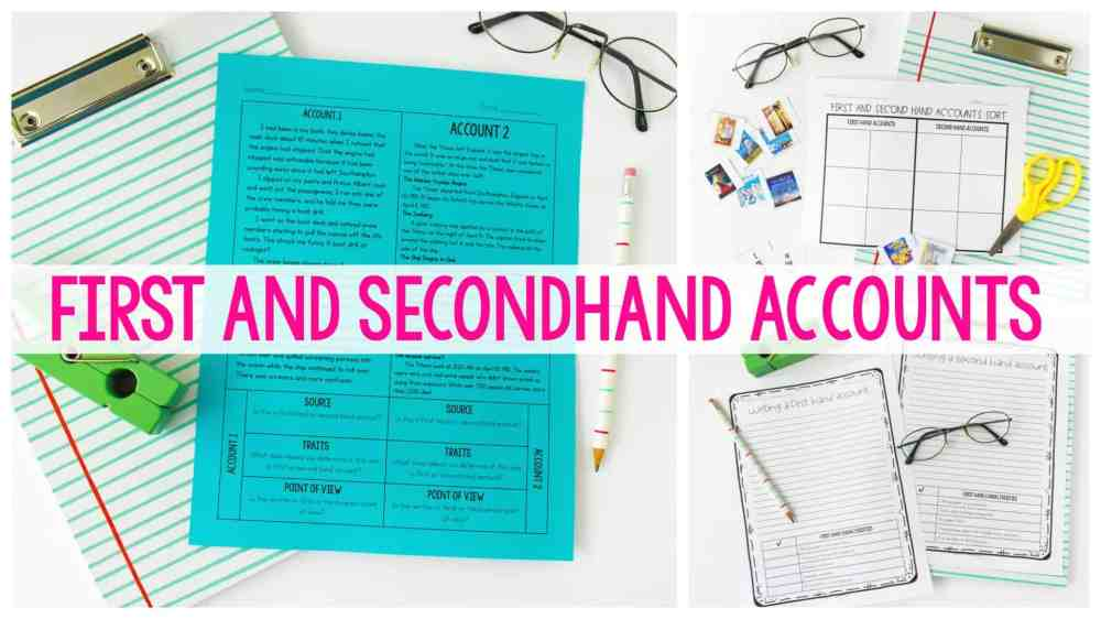 medium resolution of Firsthand and Secondhand Accounts - Ashleigh's Education Journey
