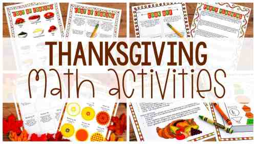 small resolution of Thanksgiving Math Activities - Ashleigh's Education Journey