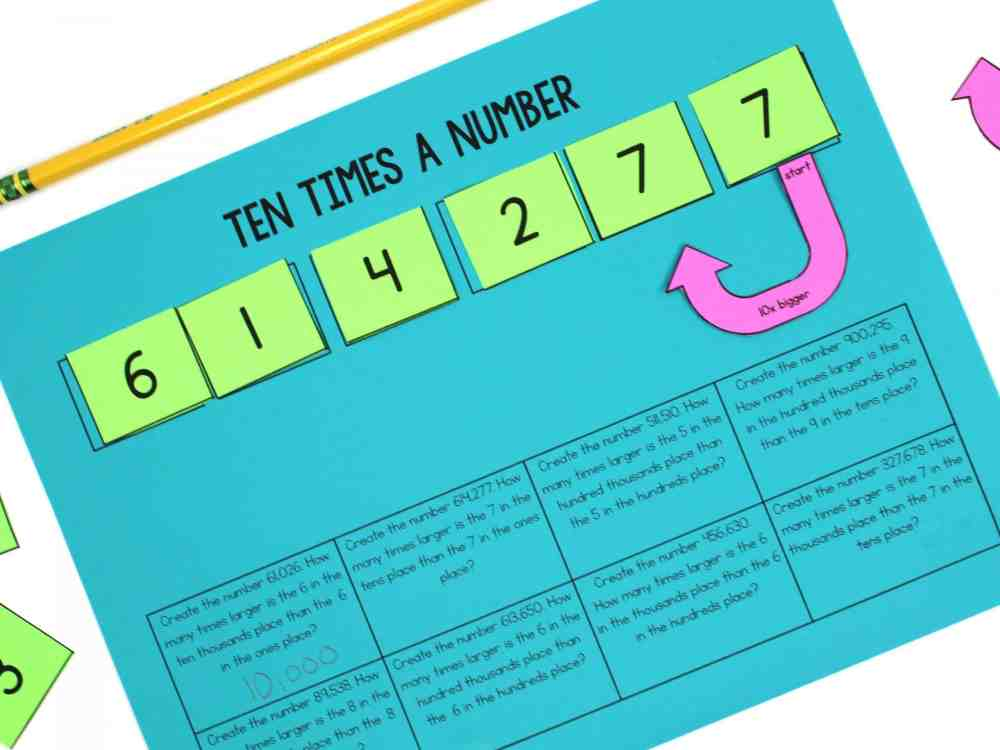 medium resolution of Understanding the Value of Digits in Place Value - Ashleigh's Education  Journey