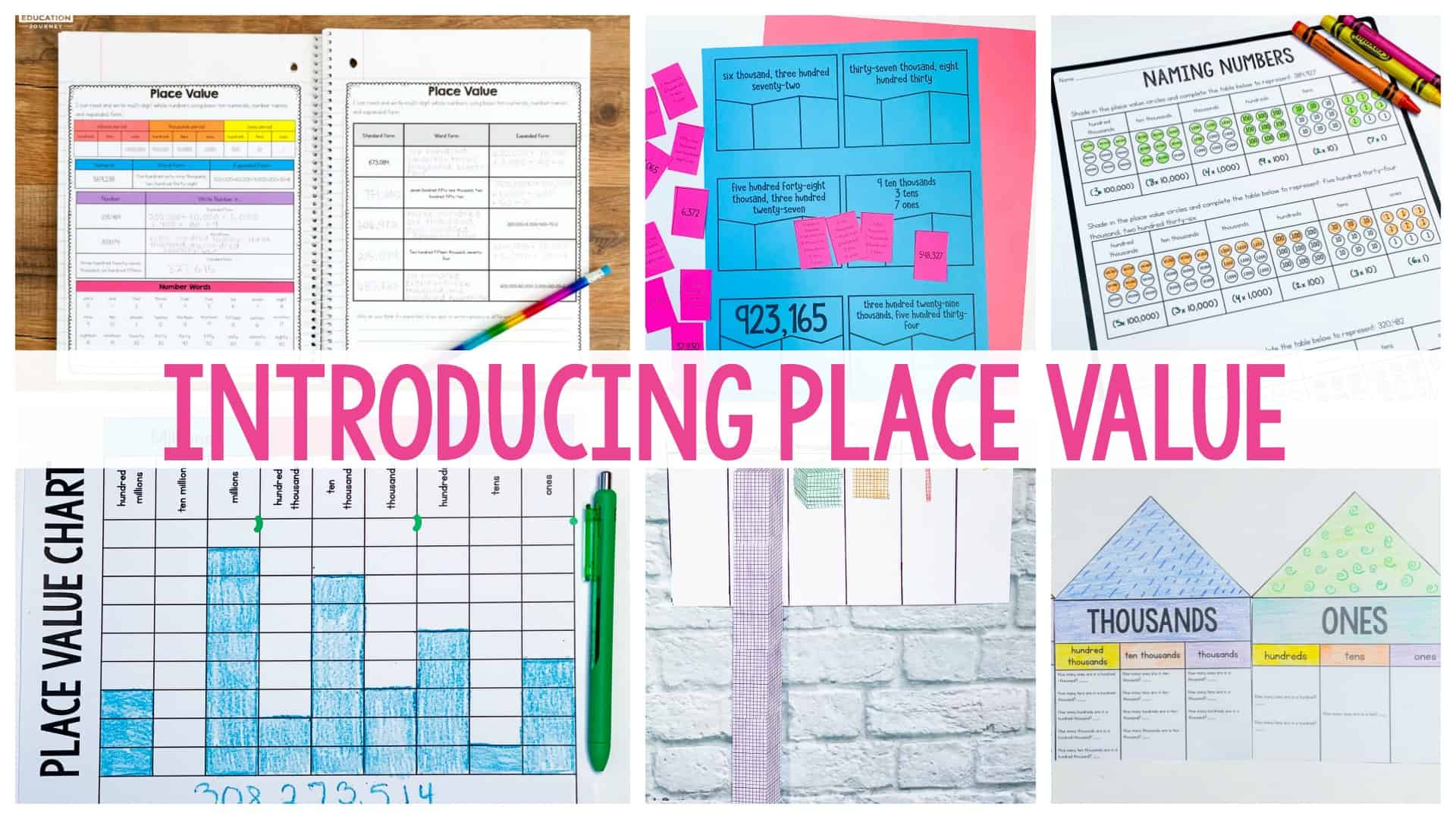 hight resolution of Introducing Place Value - Ashleigh's Education Journey