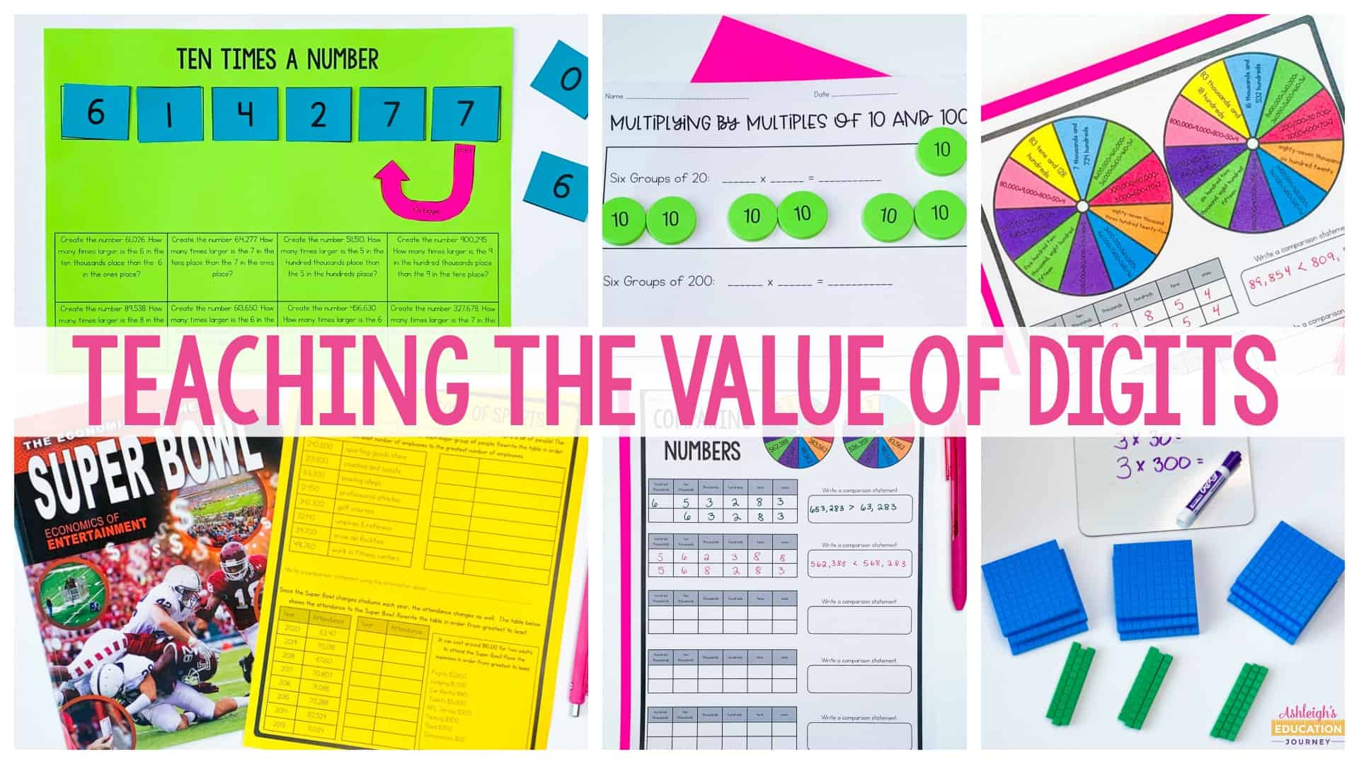 hight resolution of Understanding the Value of Digits in Place Value - Ashleigh's Education  Journey