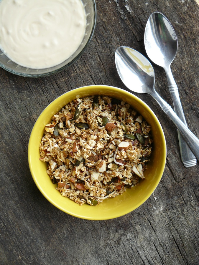 Lazy Girl Granola - Easy Panfried Granola