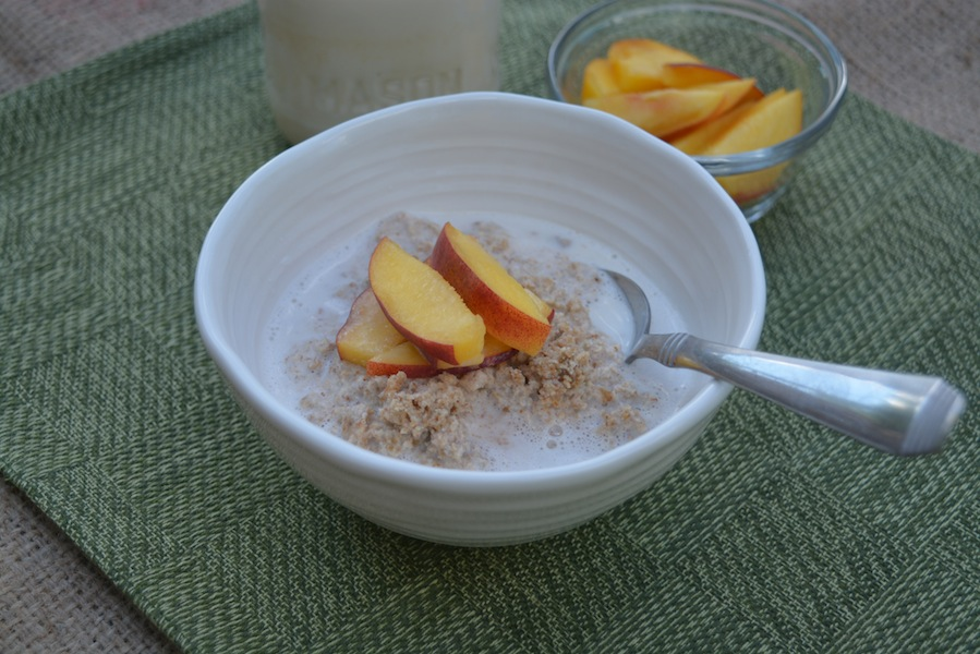 Peach & Almond Porridge 5