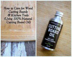 Caron & Doucet Cuisine Cutting board oil