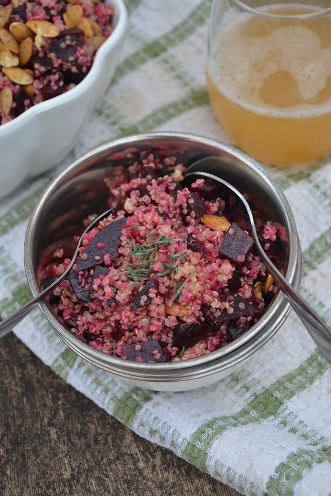 Big Protein Beet & Quinoa Salad -2 small