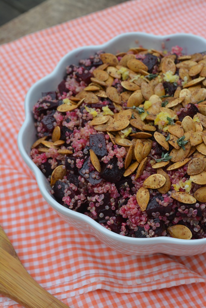 Big Protein Beet & Quinoa Salad -4 small