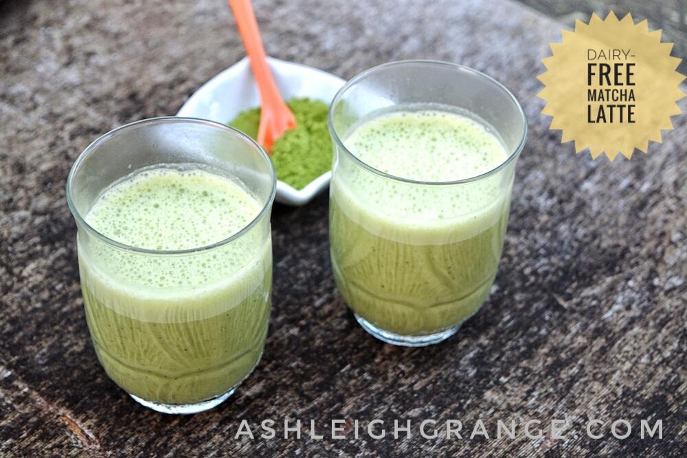 Dairy-Free Matcha Latte 1