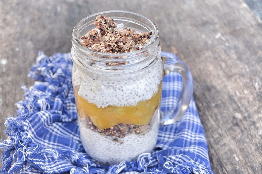 Coconut chia pudding with mango and pineapple salsa blog_horiz