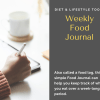 Weekly Food Journal