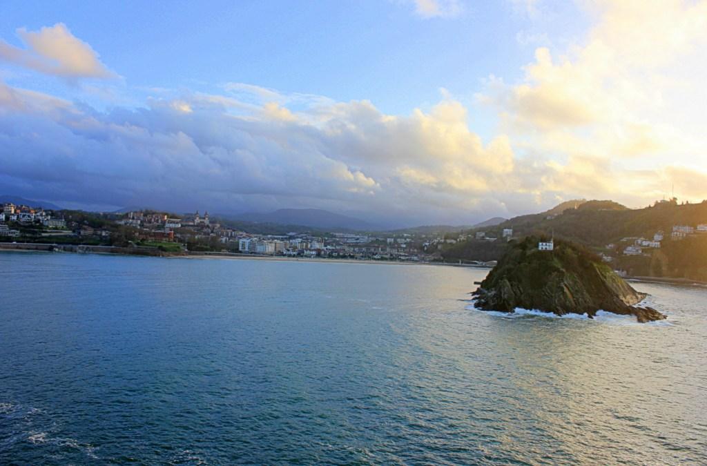 The Beauty of San Sebastián at Sunset