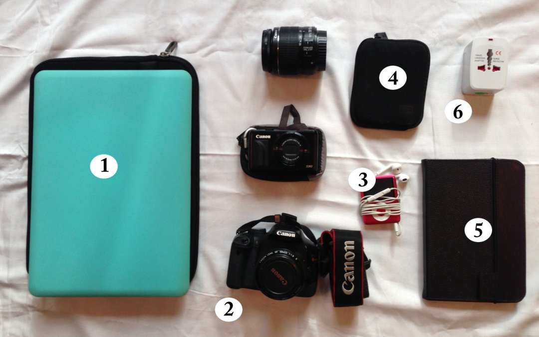 Packing for Asia: Inside My Tech Bag