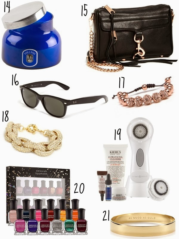 Blogmas Day 7: Top 25 Gifts for Her | 21 & Not Counting