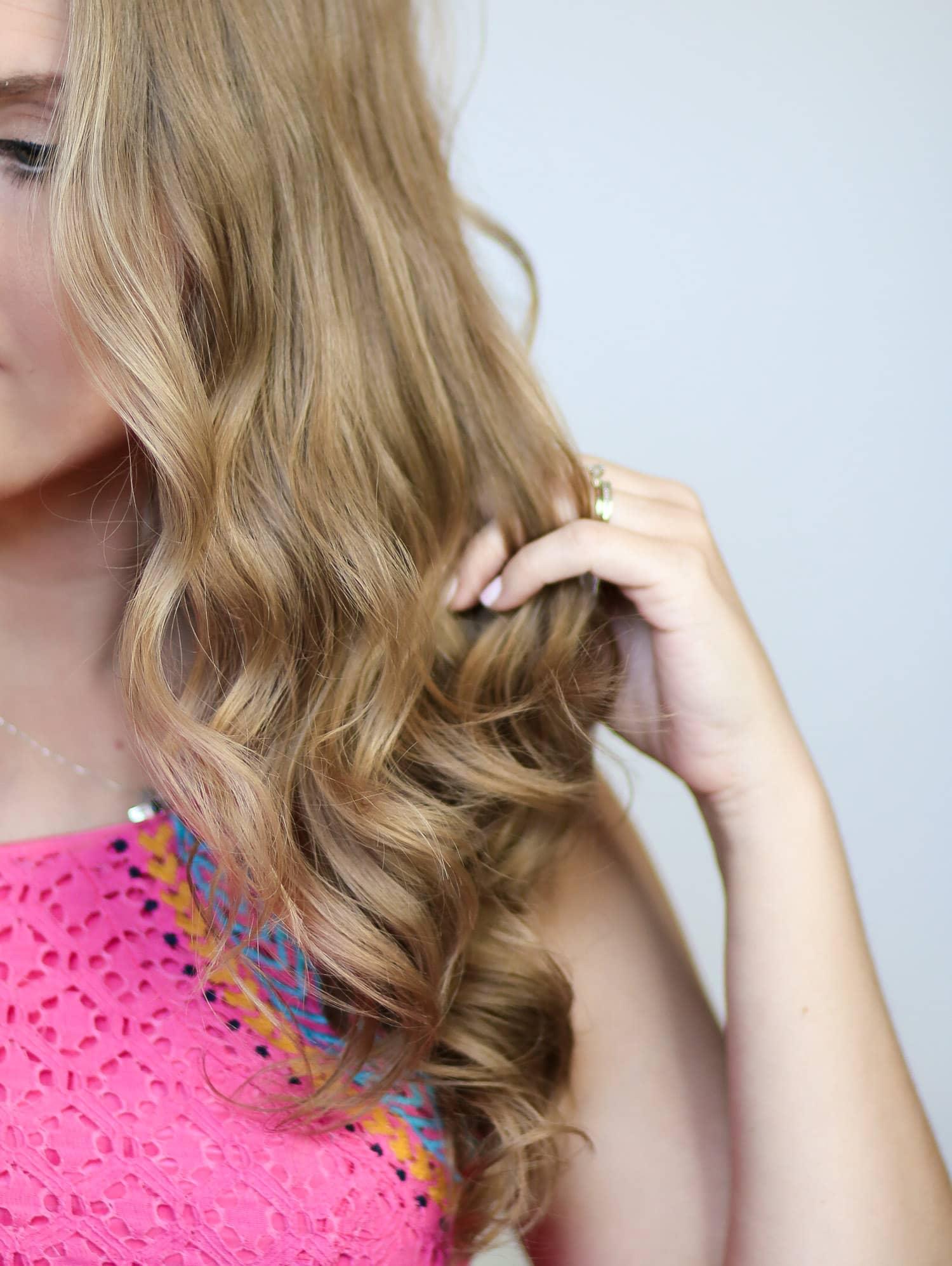 Easy Mermaid Curls Tutorial Ashley Brooke Nicholas