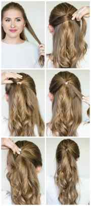 quick & easy hairstyle tutorials