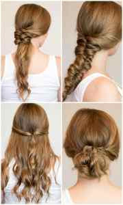 easy heatless hairstyles long