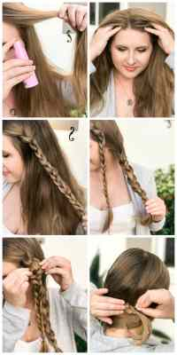 Easy and Cute Side Braid Tutorial