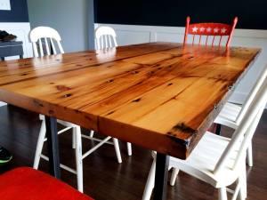 hazel park wood table