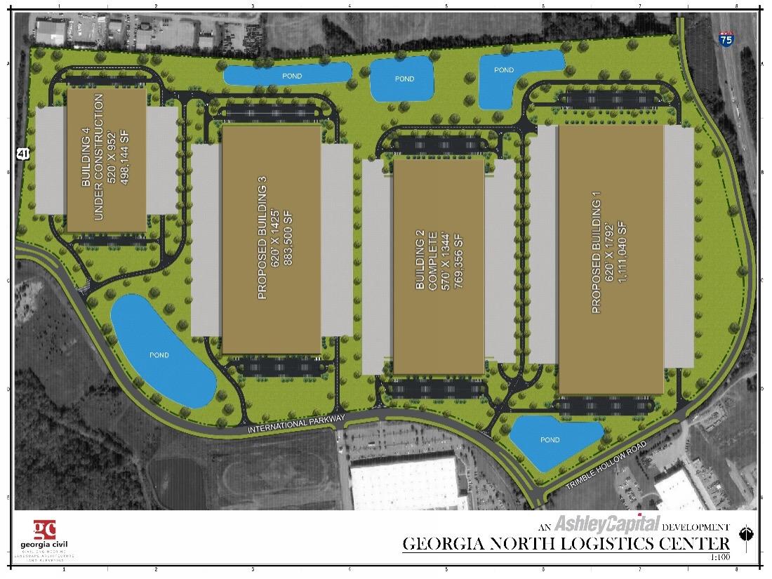 Georgia North Logistics Park - Atlanta Industrial Real Estate Property - Ashley Capital