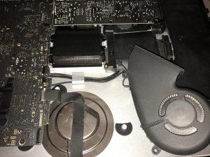 iMac 2012 Fan Removed