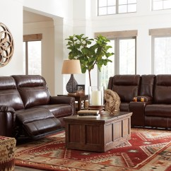 Lauren Ashley 60 Zero Wall Sofa Recliner Real Leather Sectionals Reclining Living Sets  All American Mattress And Furniture